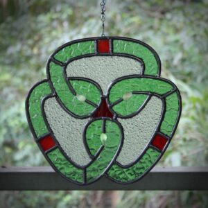 celtic knot leadlight