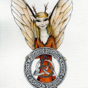 Gwyneth Celtic art by Nicola McIntosh